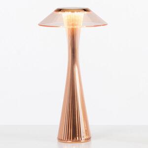 Kartell Kartell Space - LED designová stolní lampa, měď