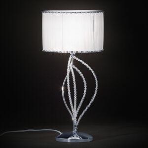 PATRIZIA VOLPATO Stolní lampa Girasole s textilním stínidlem