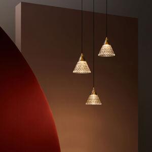 LEDS-C4 LEDS-C4 Veneto závěsné světlo 1 zdroj zlatá/černá