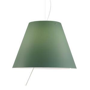 Luceplan Luceplan Costanza - LED závěsné světlo zelená