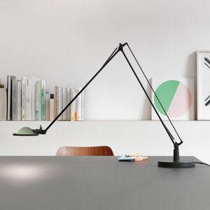 Luceplan Luceplan Berenice stolní lampa 15cm, černá-zelená
