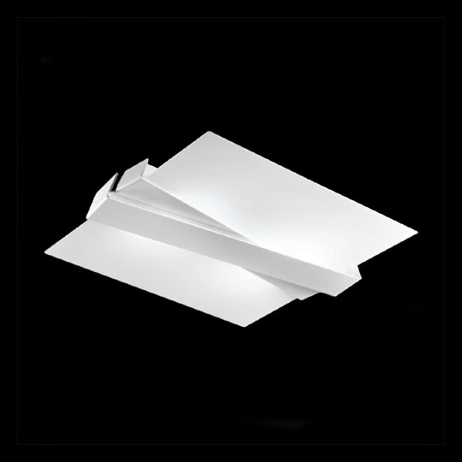 Linea Light Stropní světlo Zig Zag bílé