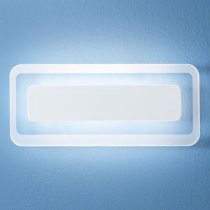 Linea Light LED nástěnné světlo Antille bílá 31,4 cm
