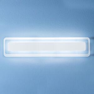 Linea Light LED nástěnné světlo Antille bílá 61,4 cm