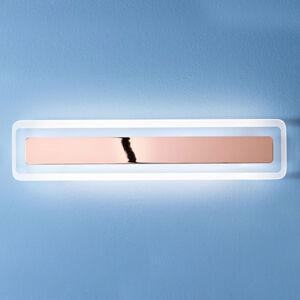 Linea Light LED nástěnné světlo Antille měď 61,4 cm