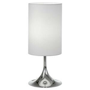 Lam Stolní lampa Flute 55 cm bílá chrom