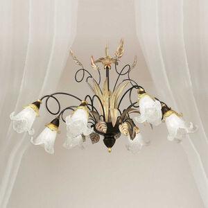 Lam Květinové závěsné světlo Giuseppe 8zdrojové