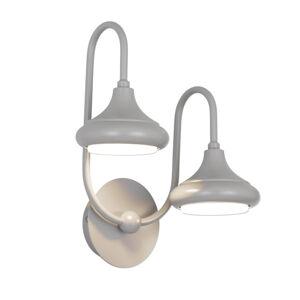 Lam Nástěnné světlo 1680/2A dva zdroje, šedá