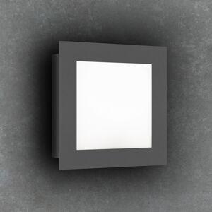 LCD LED venkovní nástěnné světlo 3007LED, grafit