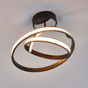 Lis Poland LED stropní svítidlo Largo Ø 45 cm černé