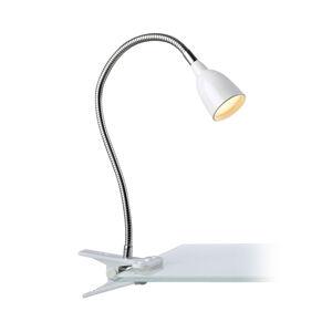 Markslöjd LED světlo se svorkou Tulip, bílá