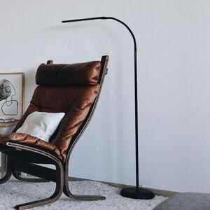 Jakob Maul LED stojací lampa MAULpirro stmívatelná, černá