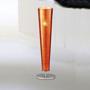 Mettallux Stolní lampa zlatá Fire 1 zdroj oranžová
