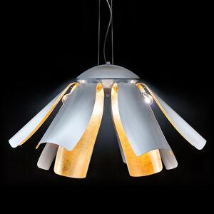 Mettallux Pozlacené designové závěsné světlo Tropic 100 cm