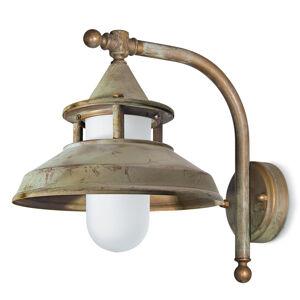 Moretti Venkovní nástěnné svítidlo Antique V 30cm mosaz