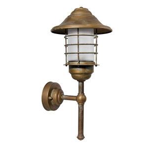 Moretti Přímé venkovní nástěnné svítidlo Chiara voděodolné