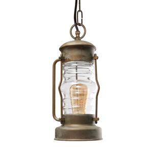 Moretti Závěsné světlo Antiko tvar lucerny, voděodolné