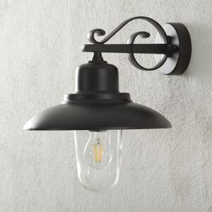 Moretti Venkovní nástěnné světlo 4101, černá