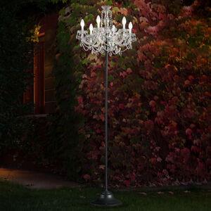 Masiero RGBW venkovní stojací lampa Drylight přes aplikaci