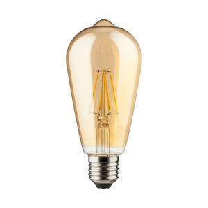 Müller-Licht E27 7W LED rustikální žárovka zlatá