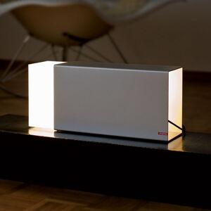 Moree Stolní lampa Eraser 380 stříbrná