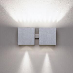 Milan Milan Dau - nástěnné světlo up-down hliník 2zdr