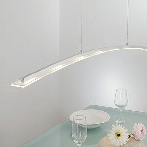Lucande Nastavitelné LED závěsné světlo Juna, 136cm