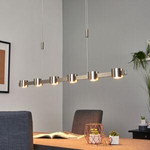 Lucande Niro – nastavitelné LED závěsné světlo,stmívatelné