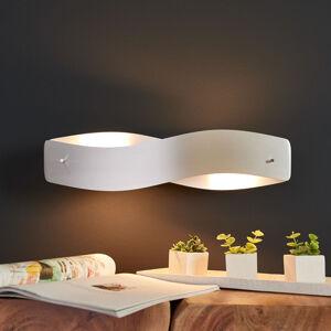 Lucande LED nástěnné světlo Lian - hliník matný