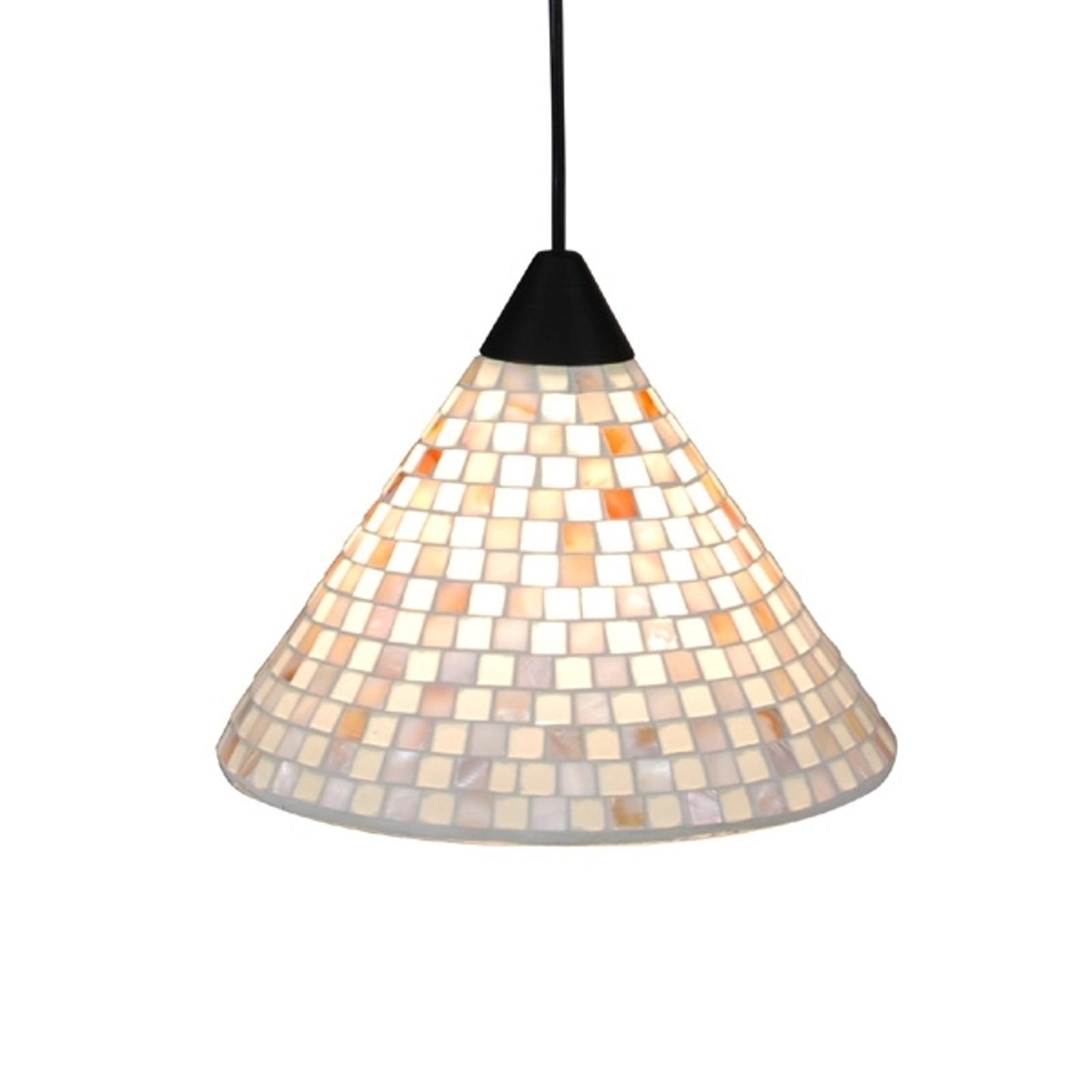 Näve Závěsné světlo Yara s mozaikovým stínidlem