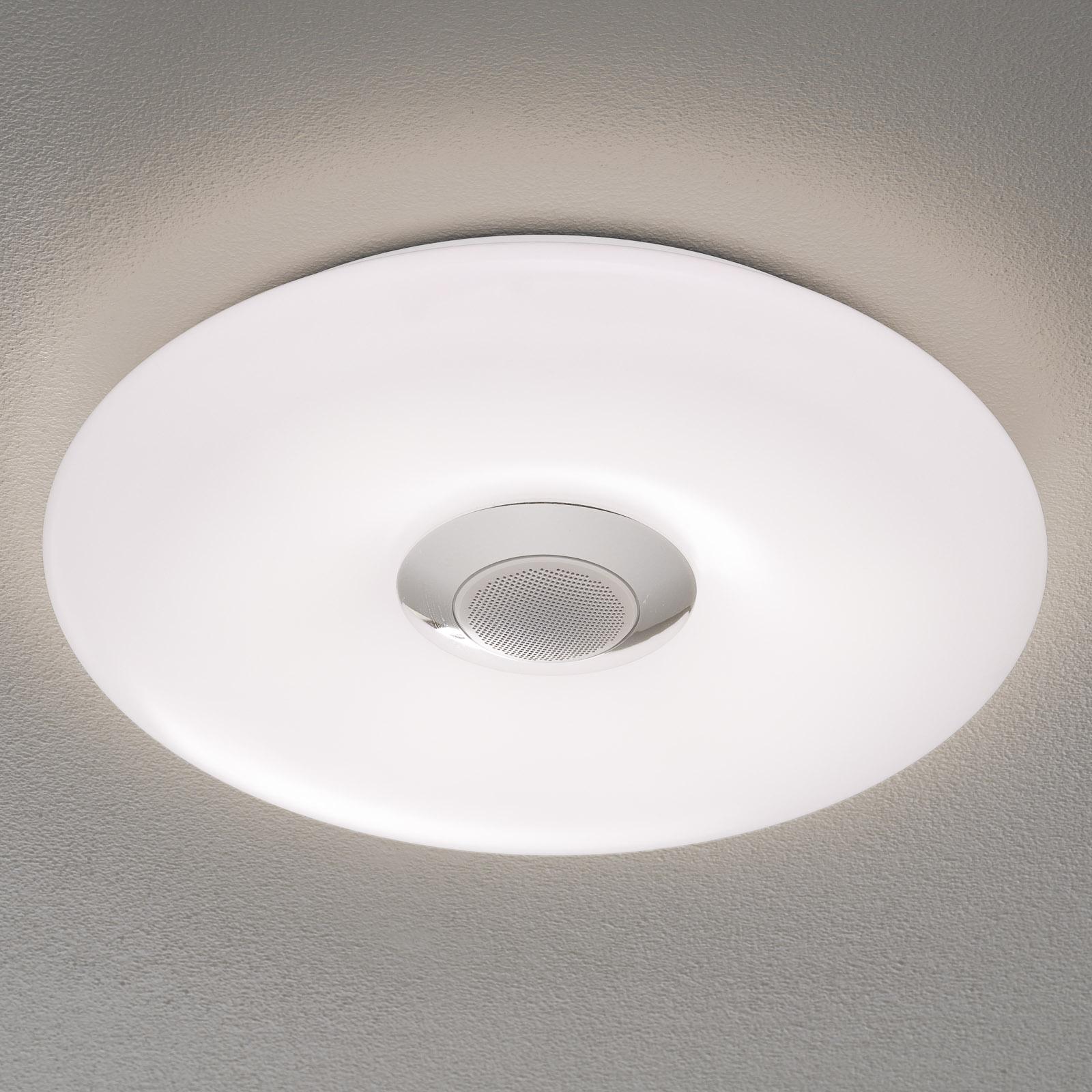 Näve Nashville - LED stropní svítidlo s reproduktorem