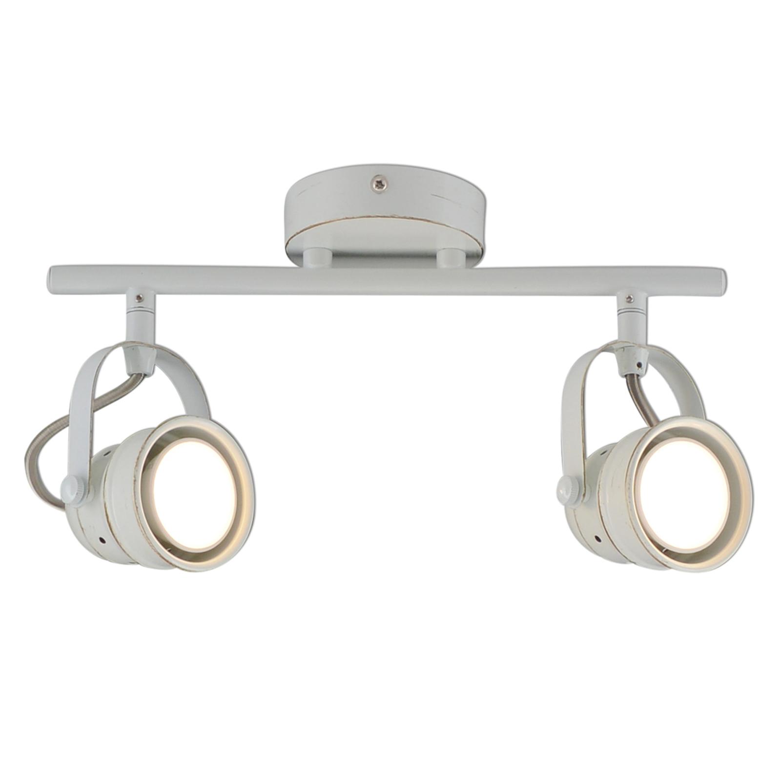 Näve LED stropní bodové osvětlení Tessa, 2zdrojové bílé