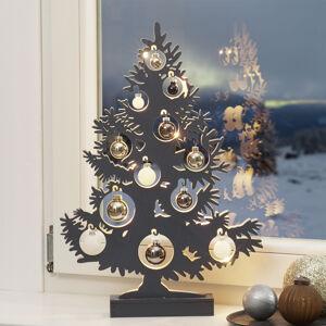Näve LED dekorativní vánoční strom, antracit
