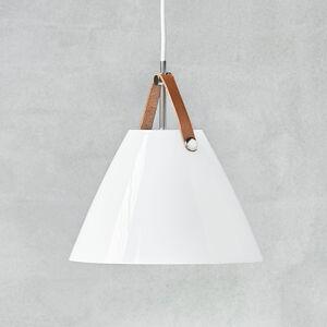 Nordlux LED závěsné svítidlo Strap 27 stínidlo sklo, bílé