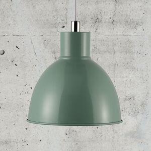 Nordlux Závěsné světlo Pop s kovovým stínidlem, zelená