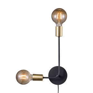 Nordlux Josefine nástěnné světlo s kabelem a zástrčkou