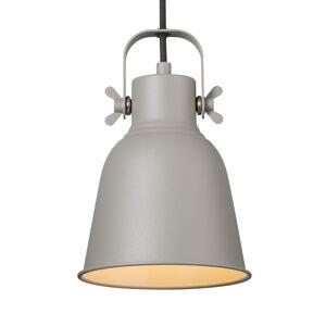 Nordlux Závěsné světlo Adrian v šedé, Ø 16 cm