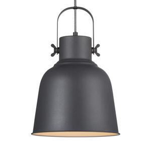 Nordlux Závěsné světlo Adrian v černé, Ø 25cm