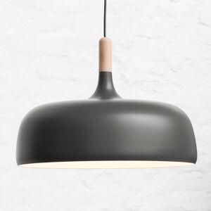 Northern Northern Acorn - šedé závěsné světlo z hliníku