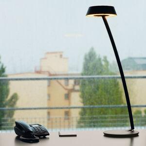 OLIGO OLIGO Glance LED stolní lampa oblouk černá matná