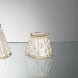 Orion Náhradní stínidlo pro stolní lampy, plis., 15,5 cm