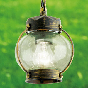 Orion Závěsné svítidlo Margerite pro venkovní prostředí