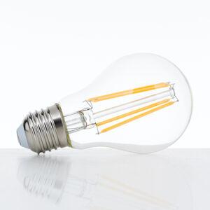 Orion LED žárovka E27 A60 9W filament čirá 827 stmívací