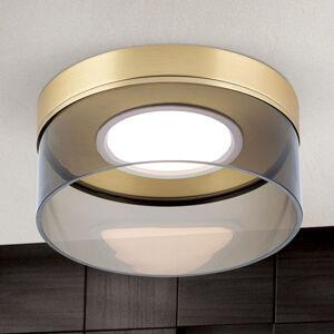 Orion LED stropní svítidlo Francis mosaz matná Ø 30 cm