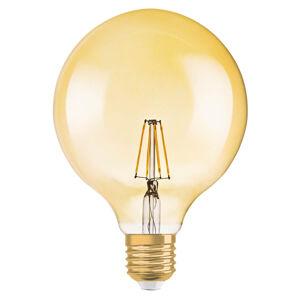 OSRAM LED žárovka Globe zlatá E27 2,5W teplá bílá 220 lm