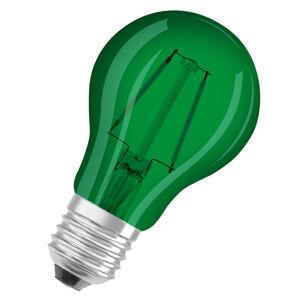 OSRAM OSRAM LED E27 Star Décor Cla A 1,6W, zelená