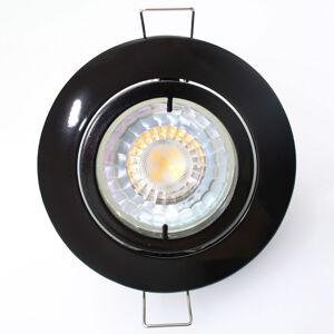 Pamalux Vysokonapěťové podhledové svítidlo Snok, černé