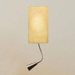 Pamalux Nástěnné světlo Melia s LED lampou na čtení
