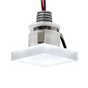 Pamalux LED podhledové svítidlo Cristalin, hranaté, IP44