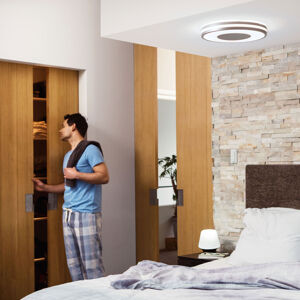 Philips HUE Philips Hue White Ambiance Being stropní lampa alu
